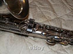 Roi Zephyr Saxophone Alto # 188xxx, Plaque D'argent Original, Joue Great, Nice