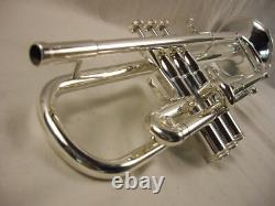 S. E. Shires Destino III Severinsen Modèle Professionnel Argent Bb Trompette Wow