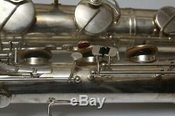 Saxohpone Baryton Weltklang Solist (nouveau Stock Ancien) Lire La Description Look Video