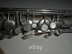 Saxophone Mélodique C Plaqué Argent Conn #69886