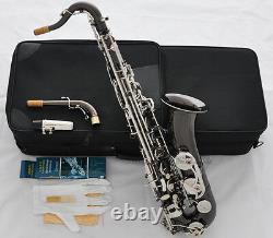 Saxophone Saxophone Noir Noir Professionnel C Melody Saxophone Haute F# 2 Cou Avec Boîtier