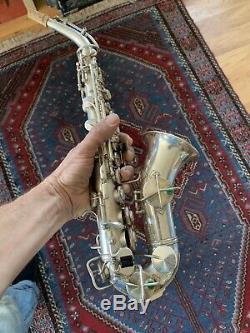 Saxophone Soprano Rare Roi Incurvé