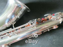 Saxophone Ténor Weltklang Allemagne Bien Jouer
