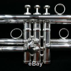 Schagerl Jm2-s James Morrison Bb Trompette En Plaqué Argent
