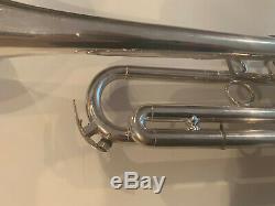 Schilke Argent B2 Trompette. 460 ML Alésage W Cas D'origine