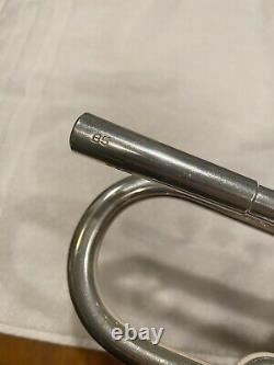 Schilke B5 Bb Trumpet ML Bore 2014 Plaqué Argent