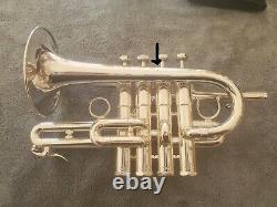 Schilke P7-4 A/bb Piccolo Trompette, Embout Buccal Et Gig Bag En Excellent État