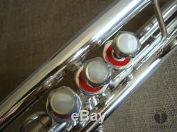 Schilke S32 Chicago Illinois, Bore Ml, Coque D'origine, Trompette Gamonbrass
