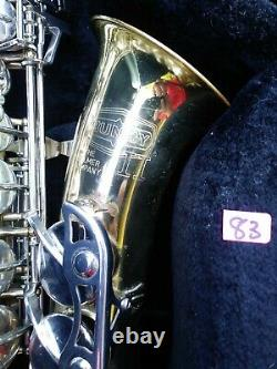 Selmer Bundy II Alto Saxophone USA Buescher Remis À Neuf Professionnellement