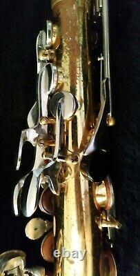 Selmer Bundy II Saxophone Alto USA Buescher Professionnellement Refurbished