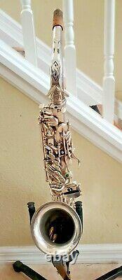 Selmer Mark Mk 7 VII Saxophone Alto Plaqué Argent