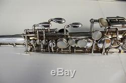 Selmer Mark VI Saxophon Soprano Argenté, Livraison Gratuite