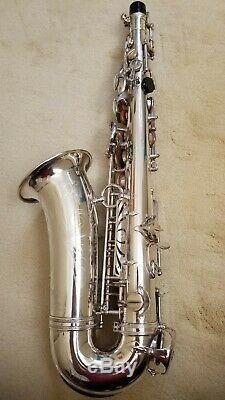 Selmer Mark VI Saxophone Alto Rare, Avec Une Grande F # Et D'autres Options D'usine