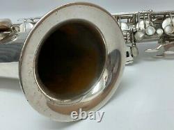 Selmer Mark VI Tenor Saxophone 1969 Argent-fini Plaqué Withprotech Cas