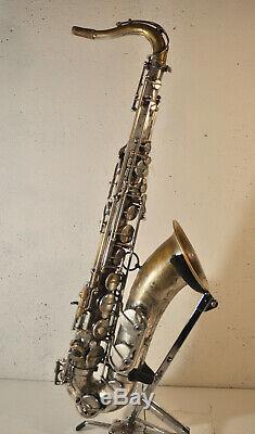 Selmer Mark VI Tenor Saxophone 1969 (plaqué Argent) Excellente Condition De Jeu