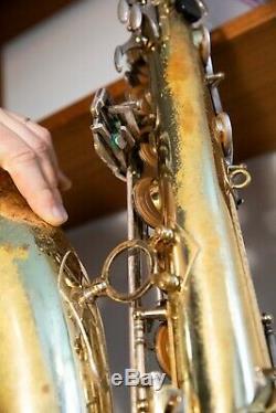 Selmer Mark VII Saxophone Ténor 1979
