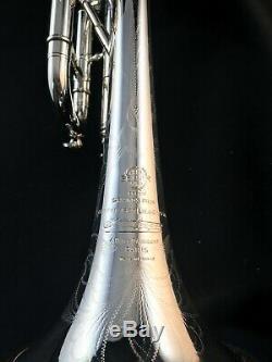 Selmer Paris Balanced Action Trompette 1951 Condition Magnifique, Cas, Muets, Mp