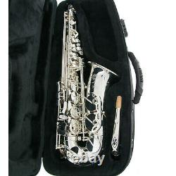 Selmer Paris Sa80 Série II Alto Saxophone Jubilé Ag Argent Plaqué