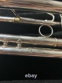 Signé Par Wayne Bergeron Argent Yamaha Xeno Ytr-8335r Professional Trompette