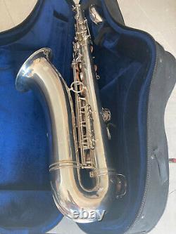 Silver Plated Euro Selmer Paris Mark VI Ténor Saxophone #123xxx