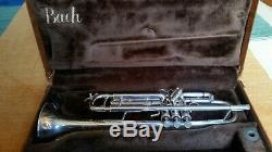 Stradivarius Modèle 25 Vincent Bach Elkhart Grand Argent Bore
