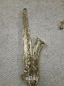 Super Dynaction Buffet Crampon Tenor Saxophone # 23579