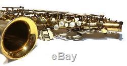 Super King 20 Silversonic Alto Sax Condition Extraordinaire Et Player- Mint