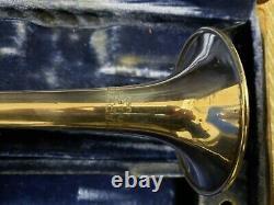 Super-rare 1958 Martin Custom C Trompette En Argent