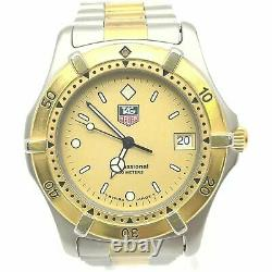 Tag Heuer Professional 2000 Série 200 Mètres 964.006f Gold Plated Men's Watch