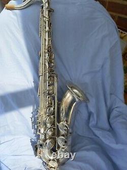 Ténor De Saxophone Rampone Et Cazzani R1 Jazz Assiette En Argent