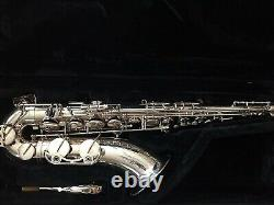 Tenor Saxophone Plaqué Argent -yamaha Yts-62iii Professionnel