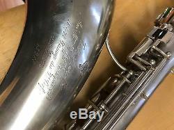 Top Vintage Evette Schaeffer- Buffet Crampon Modèle Sax Ténor 4 Clés Trille Supplémentaires