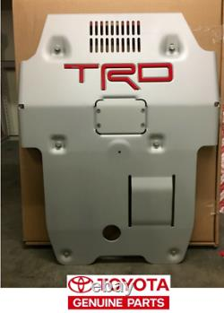 Toyota Tacoma Trd Pro Front Skid Plate 2016-2020 Genuine Oem New Ptr60-35190 Toyota Tacoma Trd Pro Front Skid Plate Genuine Oem New Ptr60-35190 Toyota Tacoma Trd Pro