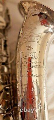 Très Beau Et Rare Vintage Maurice Boiste Saxophone Ténor, Superbe Condition