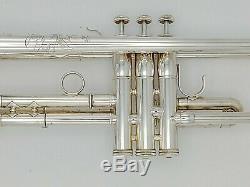 Très Belle S. E. Shires Plaqué Argent Severinsen Destino III Professional Trompette