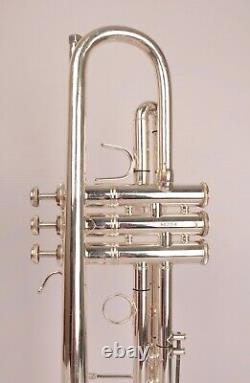 Trompette Bach Stradivarius 37 Argent, Prêt À L'emploi, Grande Condition