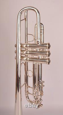 Trompette Bach Stradivarius 37 Argent, Prêt À L'emploi, Great Condition