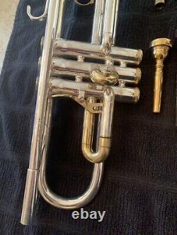 Trompette King Silver Flair #448841 Réaménagé. Parures D'or