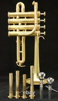 Trompette Piccolo De Acb Doubler Avec Trois Options De Finition