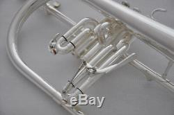 Vannes Monel En Corne De Flugel Bib Professional Bugle Avec Trigger + Étui