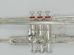 Very Nice Vintage Argent Plaqué Yamaha 739t Schilke Clone Professional Trompette