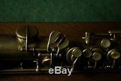 Vieux Low Pitch Français Adolphe Sax Saxophone Soprano