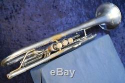 Vincent Bach Stradivarius 180s-37 Modèle 37 Trompette, Silver Plate Withcase, Mpc