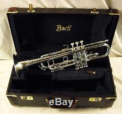 Vincent Bach Stradivarius Ab190s Artisan Professionnel Argent Bb Trompette Amazing