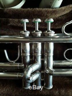 Vincent Bach Stradivarius Modèle 72 Sn 310379 Modèle 180s72 (ml) B Flat Trompette
