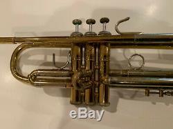 Vincent Bach Stradivarius Trompette Elkhart Modèle 37 Trompette