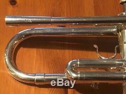 Vintage 1975 Trompette Schilke B6l Projet De Loi Chase Avec Cloche En Cuivre Accordable Lead Horn