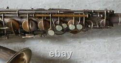 Vintage Brass Conn Transition Alto Saxophone Sn 242xxx