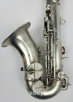 Vintage C. G. Conn Curved Soprano Sax Super Clean Museum Quality High Pitch 1913