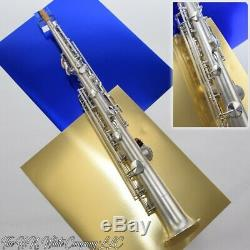 Vintage H. N. Blanc Roi C Soprano Saxophone Rare Et Fantastique